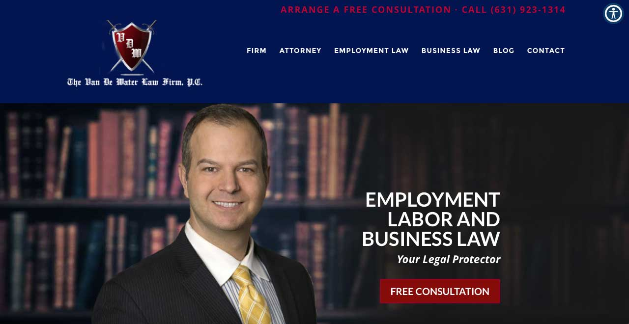 The-Van-De-Water-Law-Firm-PC-Employment-Labor-Business Law Attorney